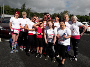 Newtownabbey Team & the 5k Race for Life