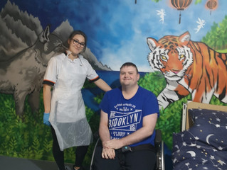 Newtownabbey team spirit delivers amazing iCare Wish for local man