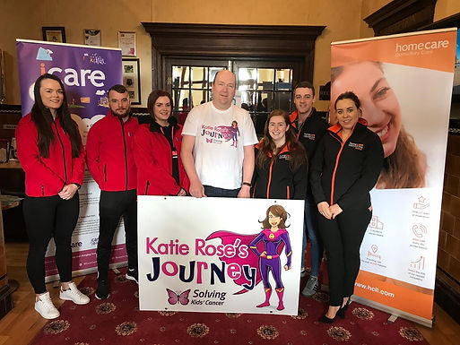 iCare and Homecare Independent Living Support Katie Rose's Journey  Announced as Main Sponsor for Charity Ball