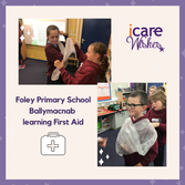 Foley Primary School- iCare Wish Granted