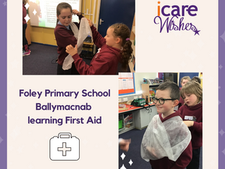 Foley Primary School- iCare Wish Granted