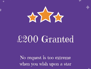 £200 Granted to a Family in need