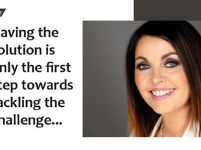 CEO Feature - Having the solution is only the first step towards tackling the challenge