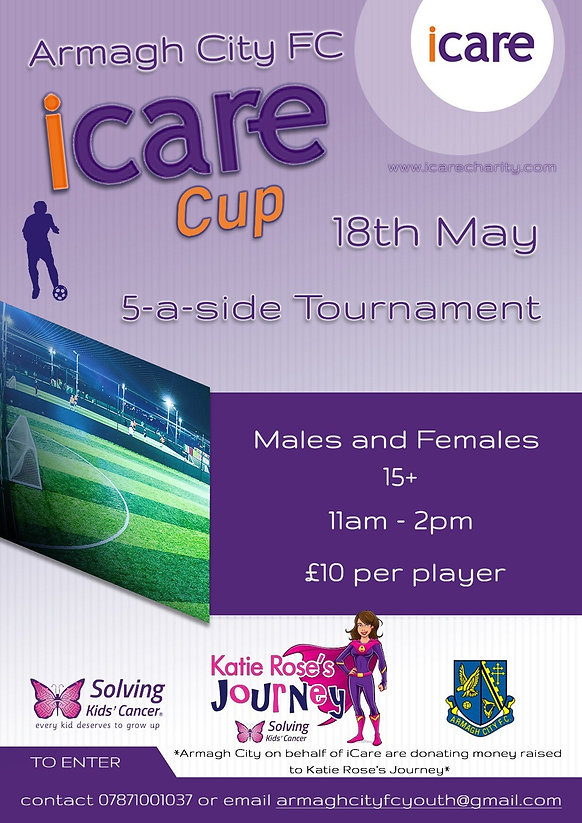 Armagh City FC iCare Cup