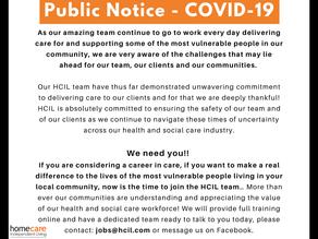 Public Notice - COVID-19
