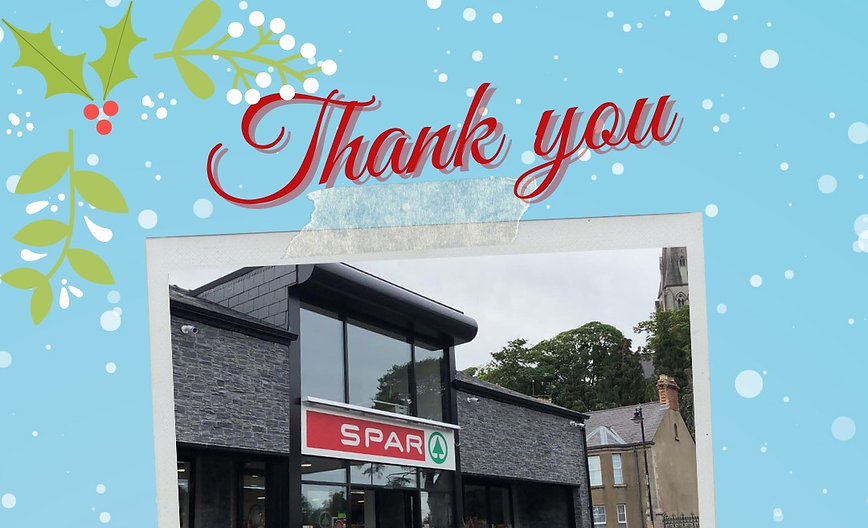 Our 1st iCare at Christmas Supporter - Currans Armagh