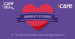 iCare Act of Kindness Campaign 2019