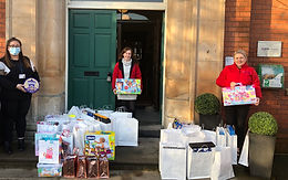 iCare At Christmas Donates presents to Southern Trust's Children with Disabilities service