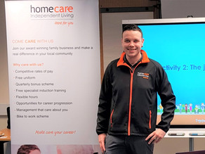 Mark from Recruitment out & about