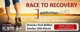 Year, New You, New Challenge.....sign up now to the Race to Recovery