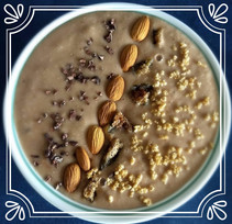 Smoothie Bowl de Banano y Cacao