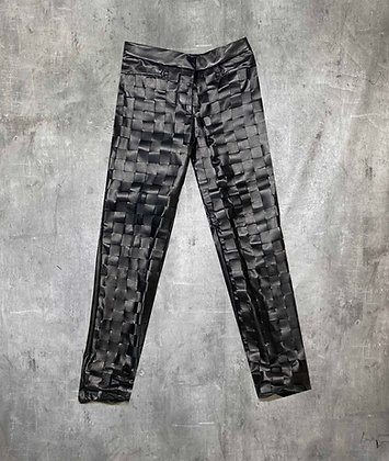LEATHER ARTISAN TROUSERS