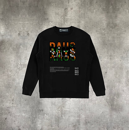 RAUS STAINED GLASS CREWNECK