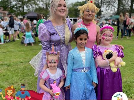 Princess and Superhero Fun Day