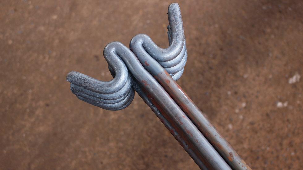 60No Units - Heavy Duty Round Fencing Pins (16mm x 1370mm)