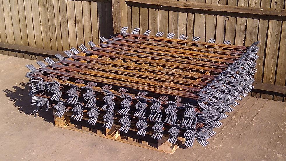 Standard Ribbed Fencing Pins (11/12mm nominal x 1370mm) 1100No Units