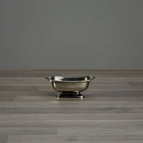 Silver Vintage Pot - Perfect Ring Tray