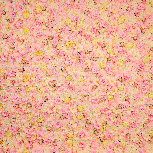The 'Aurora' Flower Wall Backdrop