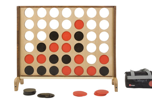 Giant Connect Four - Rustic Garden Games