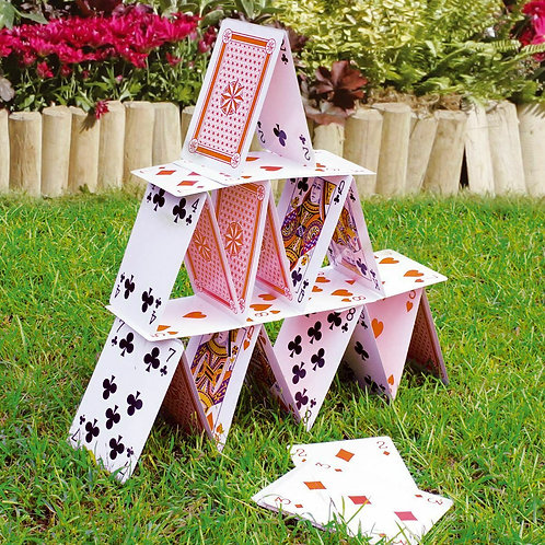 Giant Playing Cards - Garden Games