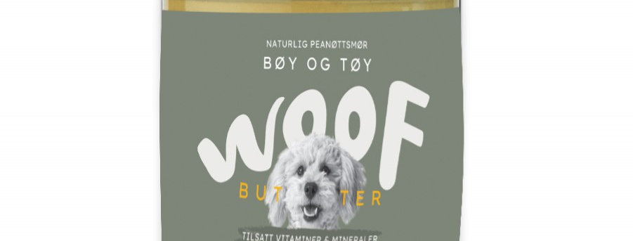 Woof Butter Bøy og Tøy 250g