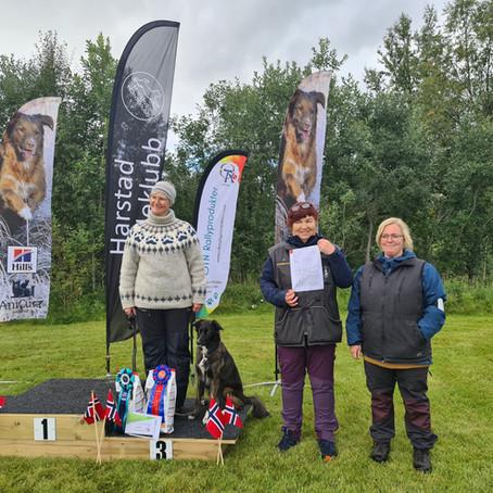 Deltakere fra rallygruppa med suksess i Harstad