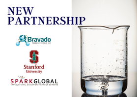 Partnership announcement, Bravado, SparkGlobal and Stanford University.