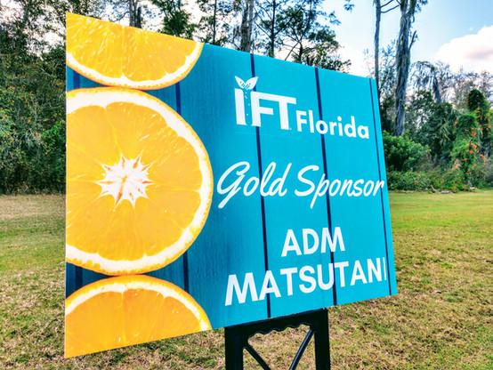 GOLD SPONSOR   ADM MATSUTANI