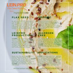 LeinPRO flax seed hummus
