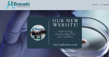 New Website bravapharm.com