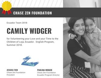 Camily Widger of Chase Zen Foundation.pn