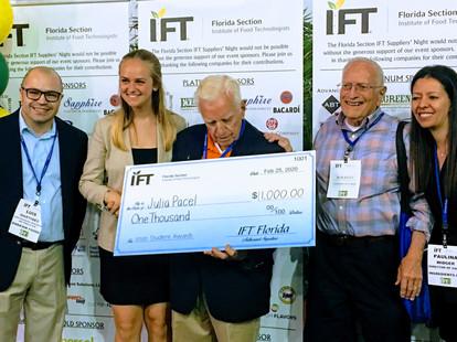 2020 Scholarship Recipients - IFT Florid