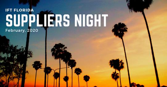 2020 Suppliers Night Florida