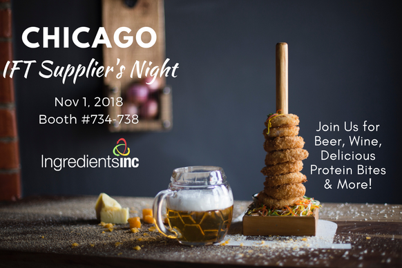 ingredients inc chicago ift suppliers night