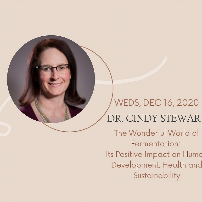 Webinar with Dr. Cindy Stewart