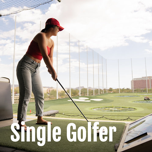 Golf Outing Single Player