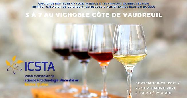 CIFST Quebec Section Wine Tasting