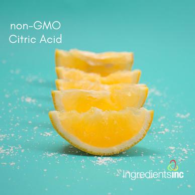 ingredients inc citric acis