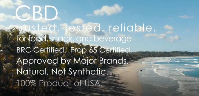 CBD Oil & Powder from Ingredients Inc