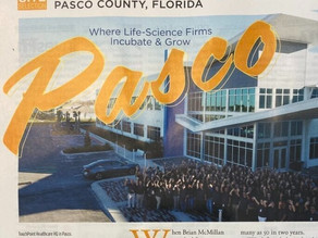 In the News: Pasco County Investment Profile of Bravado Pharmaceuticals