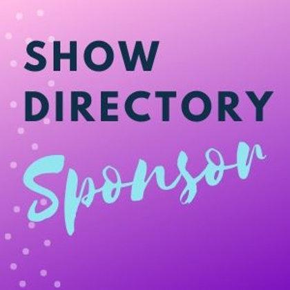 SHOW DIRECTORY SPONSOR