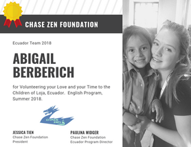 Abigail Berberich of Chase Zen Foundatio