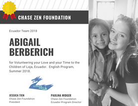 Abigail Berberich of Chase Zen Foundatio