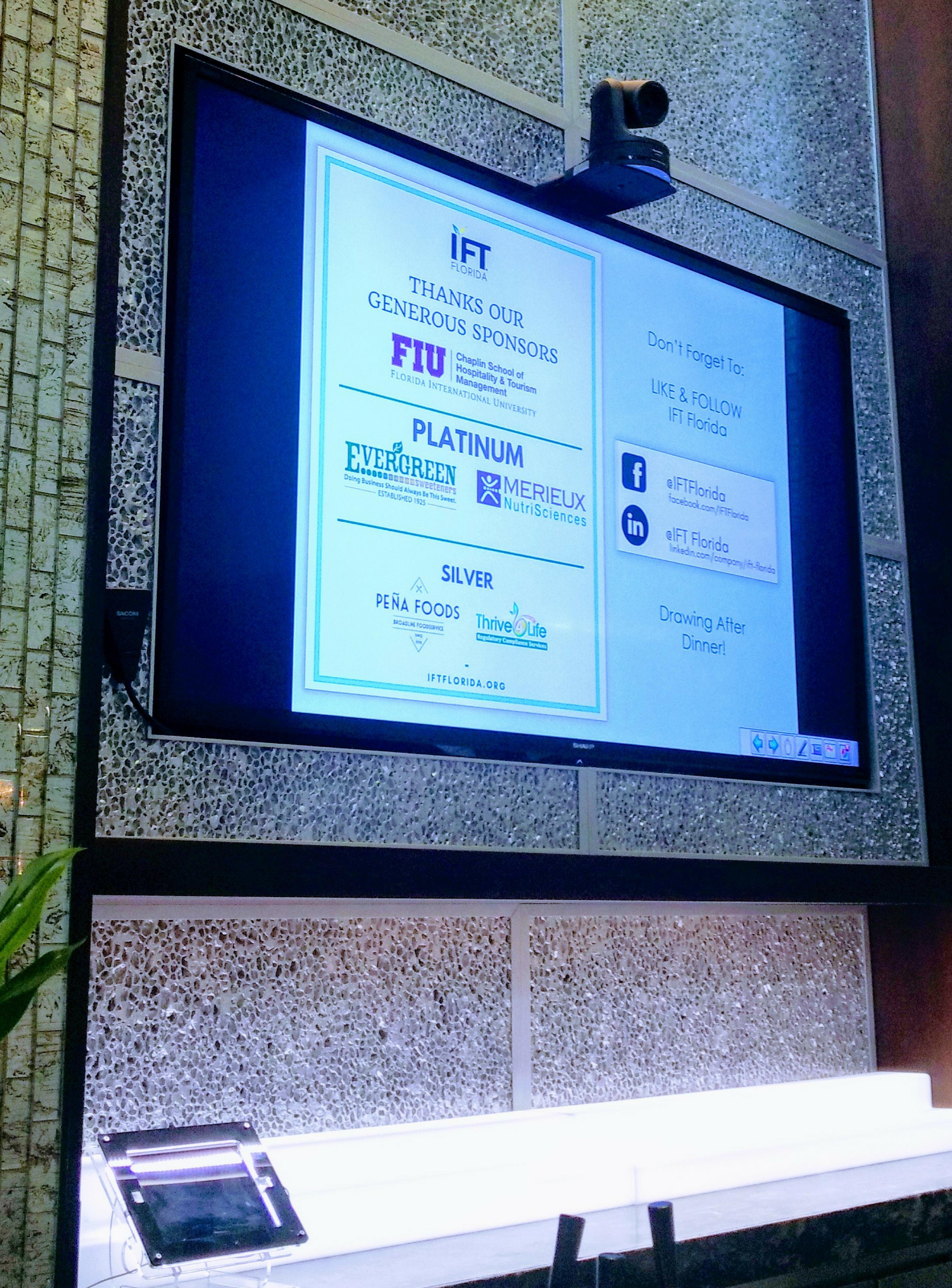 IFT Florida Sponsors
