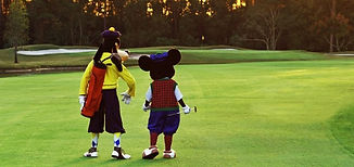 Mickey Mouse & Goofy Golf Course