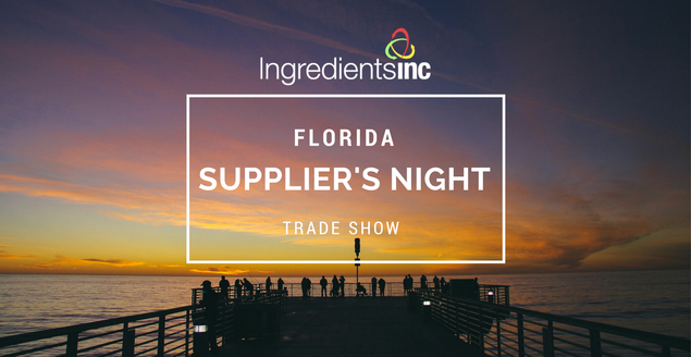 Ingredients Inc Suppliers Night IFT