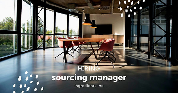 sourcing manager