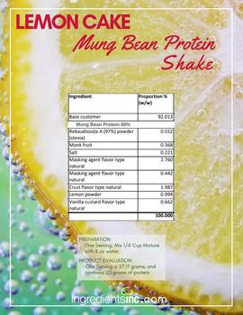 Mung Bean Protein