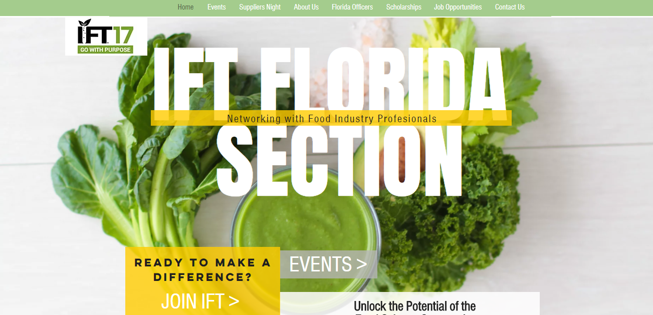 IFT Florida Homepage