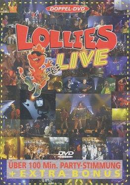 """Lollies Live """"Die Erste"""" - Doppel-DVD"""